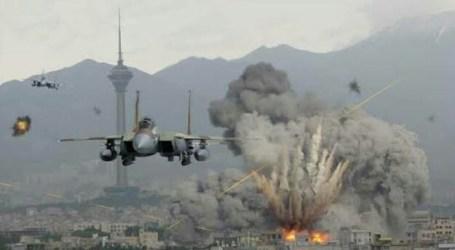 Balas Serangan Roket Hamas, Pesawat Tempur Israel Hantam Gaza