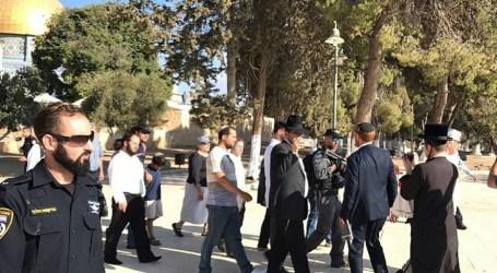 114 Pemukim Pendatang Yahudi Serbu Masjid Al-Aqsa