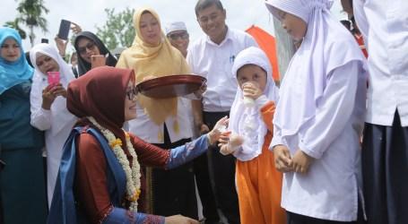 Gamong Ara Pidie Berhasil Turunkan Angka Stunting