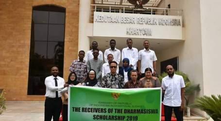 Dubes RI Terima 21 Mahasiswa Sudan Penerima Beasiswa Indonesia
