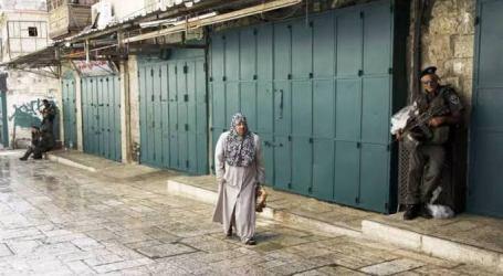 Israel Tutup 430 Toko Palestina di Yerusalem