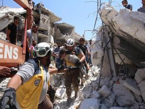 Serangan Udara Pemerintah Suriah Bunuh Ibu dan Enam Anaknya