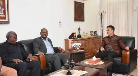 Perpustakaan Nasional Sudan Jajaki Kerja Sama dengan Perpusnas RI