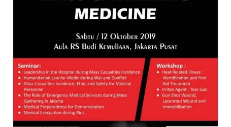 MER-C akan Selenggarakan Seminar Mass Gathering Medicine