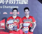 Kevin/Marcus Juara China Open 2019