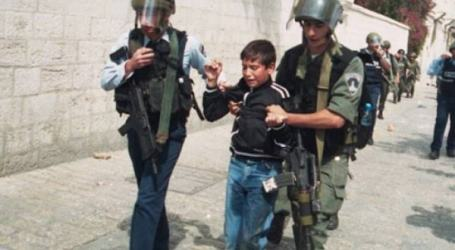 Anak-Anak Palestina Sering Melempari Tentara Israel, 21 Anak Ditangkap