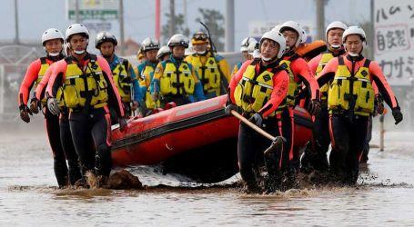 Sudah 40 Orang Tewas Usai Topan Hagibis Hantam Jepang