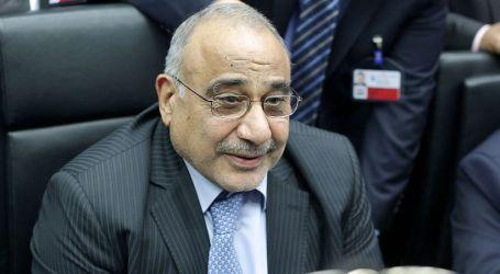PM Irak Abdul-Mahdi Tolak Mundur