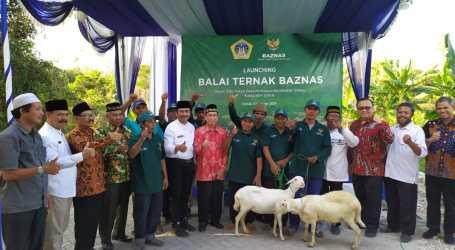 BAZNAS Resmikan Balai Ternak di Kabupaten Gresik