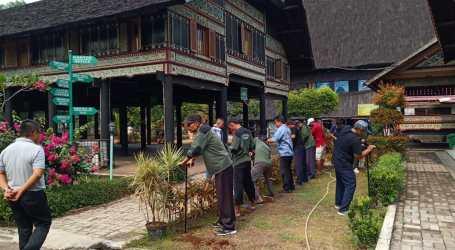 Anjungan Aceh Jadi Pelopor Biopori di TMII