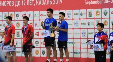 Indonesia Raih Satu Medali Emas Kejuaraan Dunia Bulutangkis Junior 2019
