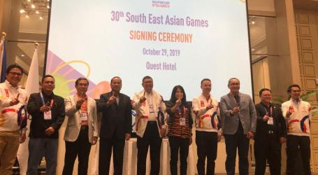 Pimpinan Kontingen Indonesia Tinjau Persiapan SEA Games 2019