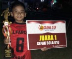 Pesepak Bola U-10 Syahnan Amron Al-Farizie Juarai Sembilan Turnamen