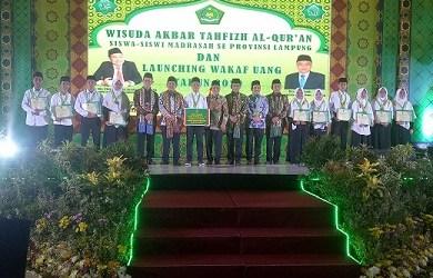 Sekjen. Kemenag Hadiri Wisuda Tahfidz Al-Quran se Provinsi Lampung
