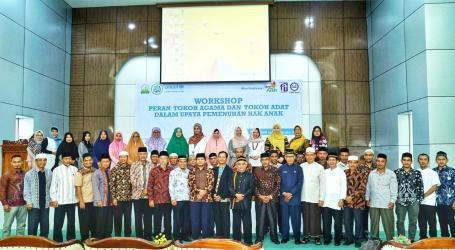 UNICEF dan MPU Aceh Gelar Workshop Perlindungan Hak Anak