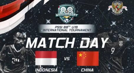 Tiket Laga Uji Coba Timnas vs China U-19 Dijual Online