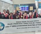 Tim Pelajar Indonesia Raih Tiga Medali Emas Kejuaraan Karate Internasional di Belgia