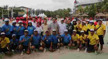 Anies Tutup Kejuaraan Voli Pantai POPNAS 2019 Pertama di Jakarta