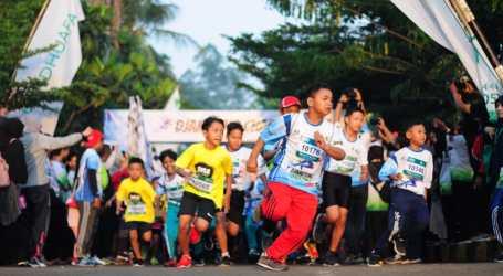"""Djampang Charity Run 2″ di Kawasan Zona Madina"