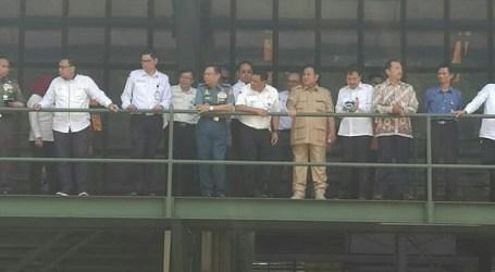 Kunjungi PT Pindad, Prabowo Jajal Kendaraan Taktis