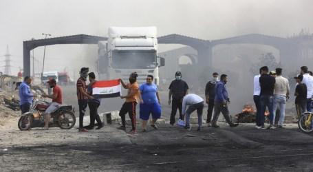 Sebanyak 13 Demonstran Ditembak Mati di Baghdad dan Basra