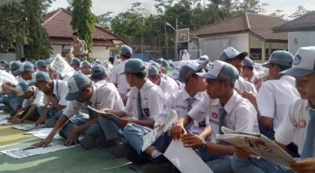 Ribuan Siswa di Brebes Ikuti Lomba Literasi Massal