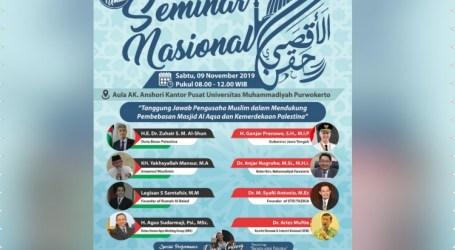 AWG Gelar Seminar Pengusaha Muslim untuk Pembebasan Al-Aqsa di Purwokerto