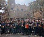 Mahasiswa Mesir Bubar saat Dubes AS untuk Israel Bicara