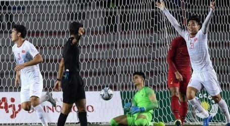 Vietnam Tekuk Indonesia 0-3
