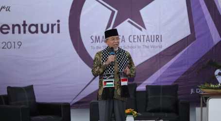 Syukuran Pembangunan Gedung Baru SMA Alfa Centauri Bandung