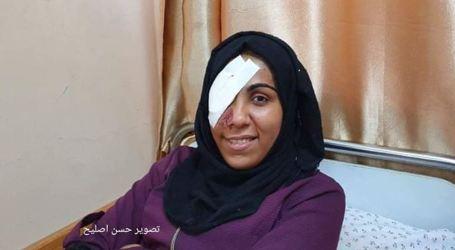 Wanita-Wanita Palestina yang Kehilangan Sebelah Matanya