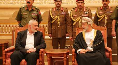 Haniyyeh Tiba di Oman Berbelasungkawa atas Wafatnya Sultan Qaboos