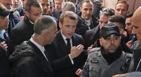 Presiden Perancis Permasalahkan Tindakan Keamanan Israel di Katedral Yerusalem