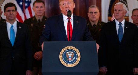 Trump Sebut Tidak Ada Korban dalam Serangan Iran di Pangkalan AS