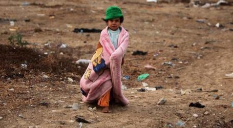 Cuaca Dingin, Hujan Lebat dan Salju di Jalur Gaza