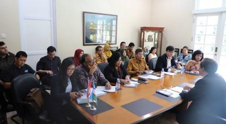 Briefing Forum Investasi Internasional Tashkent Pertama oleh Kedubes Uzbekistan di Indonesia