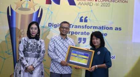 BNI Syariah Raih 1st Best Indonesia Corporate Secretary & Corporate Communication 2020