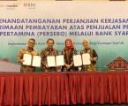 BNI Syariah Kerjasama Penjualan Produk Pertamina di Aceh
