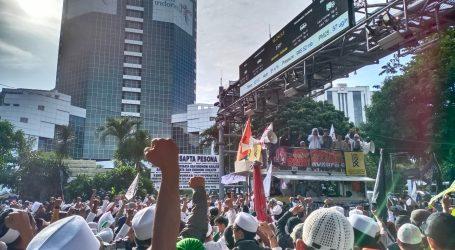 Ribuan Massa Ikuti Aksi 212 Berantas Mega Korupsi