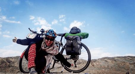 Sara Haba, Wanita Tunisia Bersepeda Sendiri Menuju Makkah