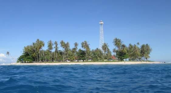 Pulau karabak pesisir selatan