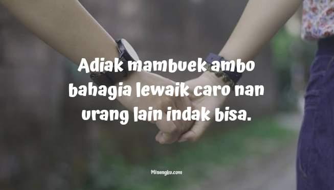 Kata kata romantis bahasa Minangkabau