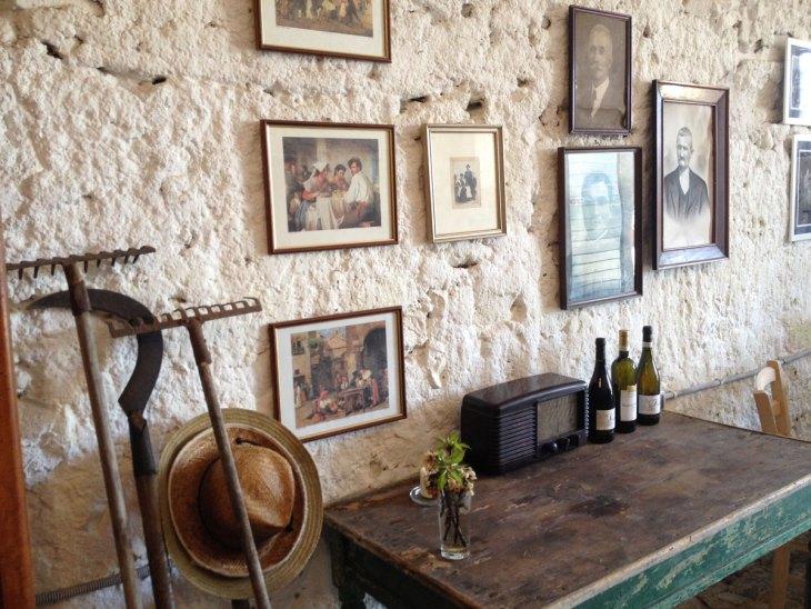 the wine cellar of the Minardi Winery