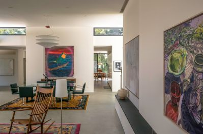 Mandeville Canyon Residence built by Minardos Group