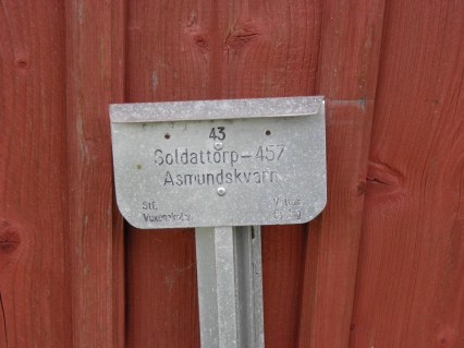 Asmundskvarns soldatboställe Vättak