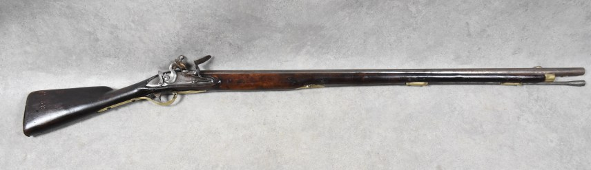 Svensk flintlås musköt modell 1762