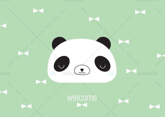 WELCOME_BOY_Panda_askaelle_minasan_portfolio