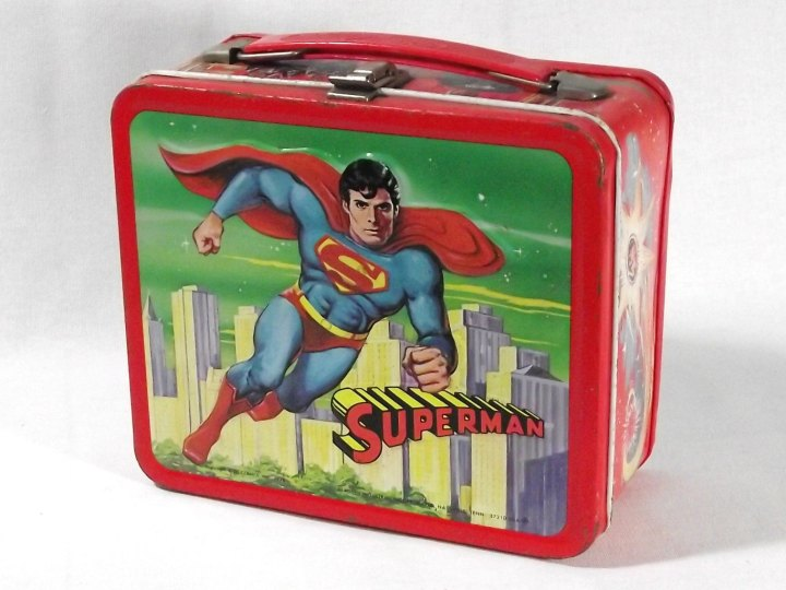 lunch box-superman_geek_retro_vintage