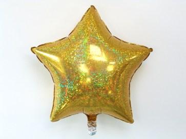 2921-ballon-etoile-holographique-dore