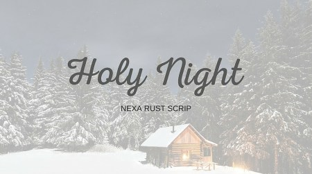 Xmas Typo Holy night